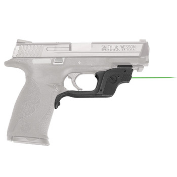 CRIMSON TRACE Green Laserguard for Smith and Wesson M&P Full-Size and Compact (LG-360G)