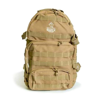 AMERICAN TACTICAL IMPORTS Rukx Gear Tactical 3 Day Tan Backpack (ATICT3DT)