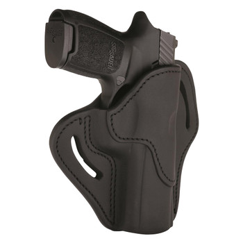 1791 GUNLEATHER BH2.4S Compact Open Top RH Stealth Black Holster (BH2.4S-SBL-R)