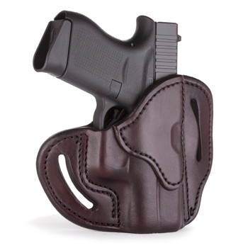 1791 GUNLEATHER BHC Compact Open Top RH Signature Brown Holster (BHC-SBR-R)