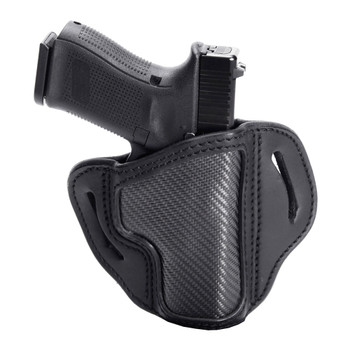 1791 GUNLEATHER CF-BH2.1 Carbon Fiber RH 1 Size Project Stealth Black Holster (CF-BH2.1-SBL-R)