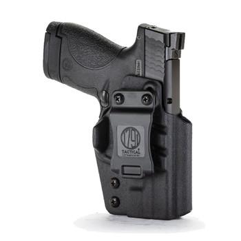 1791 GUNLEATHER Tactical IWB Kydex S&W Shield RH Black Holster (TAC-IWB-Shield-BLK-R)