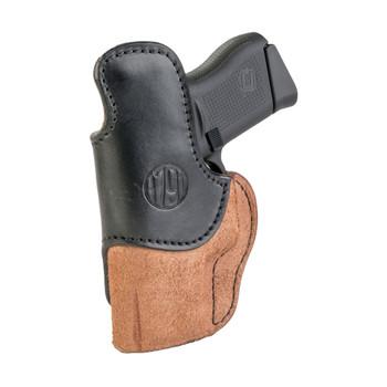 1791 GUNLEATHER RCH-4 Rigid Concealment IWB RH Size 4 Brown on Black Holster (RCH-4-BLB-R)