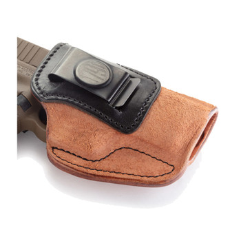 1791 GUNLEATHER RCH-3 Rigid Concealment IWB RH Size 3 Brown on Black Holster (RCH-3-BLB-R)