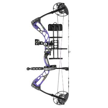 DIAMOND ARCHERY Edge 320 32in 7-70lbs Left Hand Purple Blaze Compound Bow (A13804)