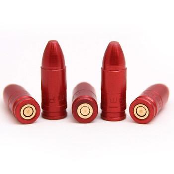 CARLSONS 9mm Aluminum 5-Pack Snap Caps (00058)