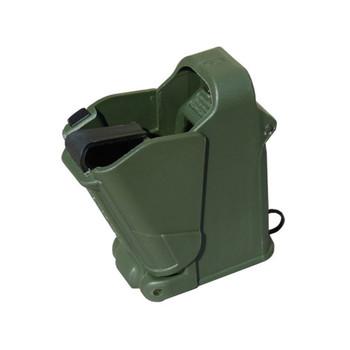 MAGLULA UpLULA 9mm to .45 ACP Dark Green Universal Pistol Mag Loader (UP60DG)