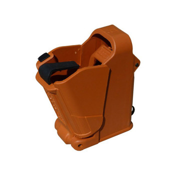 MAGLULA UpLULA 9mm to .45 ACP Orange Brown Universal Pistol Mag Loader (UP60BO)