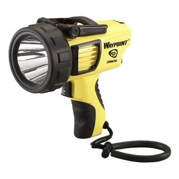 STREAMLIGHT Waypoint Rechargeable 120V AC Yellow Pistol-Grip Spotlight (44910)