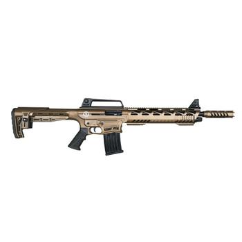 TR IMPORTS Silver Eagle Tactical 12Ga 18.5in 1x2rd 1x5rd 3in Bronze Cerakote Semi-Automatic Shotgun (SE122TACB)