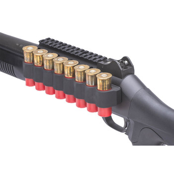 MESA-TACTICAL SureShell Benelli M4 12Ga 8-Shell Carrier with Rail (90890)