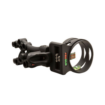 TRUGLO Carbon XS Xtreme 5-Pin .019 Black Archery Sight (TG5805B)