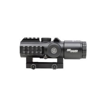 SIG SAUER Bravo5 5x30mm Illuminated 5.56/7.62mm Horseshoe Dot Reticle Graphite Battle Sight (SOB53101)