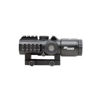SIG SAUER Bravo5 5x30mm Illuminated .300 Blackout Horseshoe Dot Reticle Graphite Battle Sight (SOB53102)