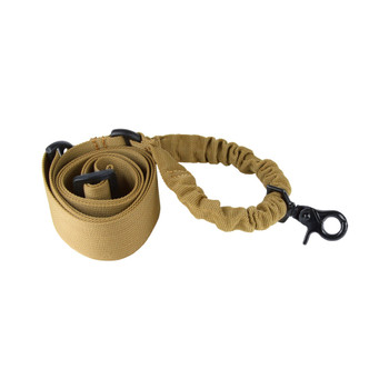 AIM SPORTS One Point Tan Bungee Rifle Sling (AOPST)