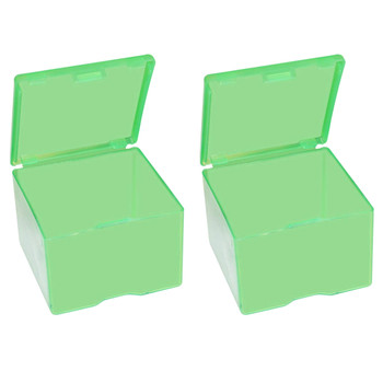 MTM CASE-GARD Clear Green 2-Pack Cast Bullet Box (CAST116)