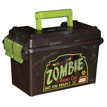 MTM CASE-GARD 50 Caliber Black/Zombie Green Ammo Can (AC50Z)
