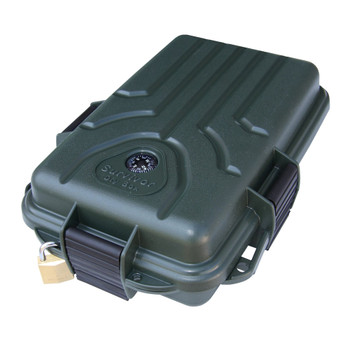 MTM CASE-GARD Survivor Forest Green Small Dry Box (S107211)