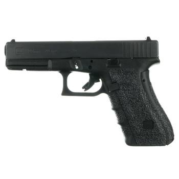 TALON GRIPS for Glock 17/22/24/31/34/35/37 Gen4 Medium Backstrap in Black Rubber (114R)
