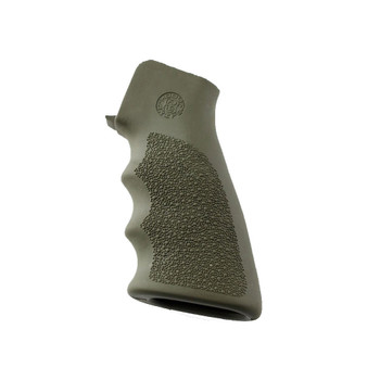 HOGUE AR15/M16 OD Green OverMolded Grip with Finger Grooves (15001)