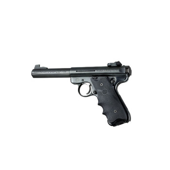 HOGUE Ruger MK II/MK III Rubber Grip with Finger Grooves (82000)