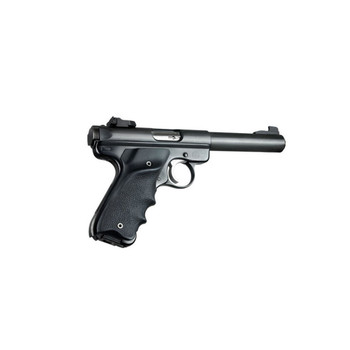 HOGUE Ruger MK II/MK III Rubber Grip with Left Hand Thumb Rest (82070)