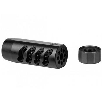 SEEKINS PRECISION AR-15 ATC 5.56 1/2x28 Melonited Black Muzzle Brake (0011510039)