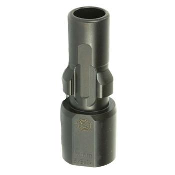 SILENCERCO 9mm 5/8x24 3-Lug Muzzle Device (AC2609)
