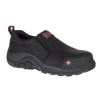MERRELL Womens Jungle Moc ESD Comp Toe Black Work Shoe (J17740)