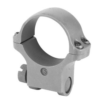 RUGER 5K30HM 30mm High-5 Matte Stainless Scope Ring (90319)