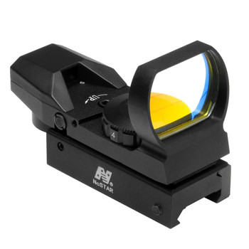 NCSTAR Red Dot Reflex Sight with 4 Reticles (D4B)