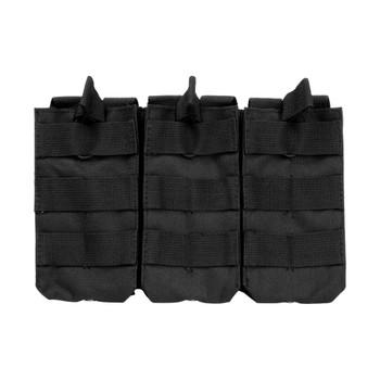 NCSTAR Vism AR Triple Black Mag Pouch (CVAR3MP2928B)