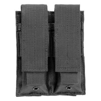 NCSTAR Vism By Ncstar Double Pistol Black Mag Pouch (CVP2P2931B)