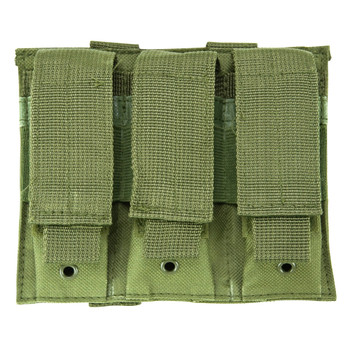 NCSTAR Vism By Ncstar Triple Pistol Green Mag Pouch (CVP3P2932G)