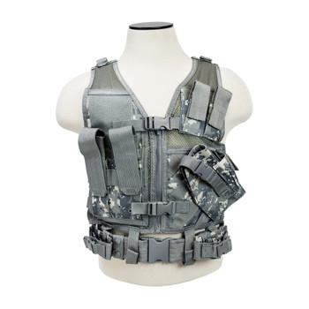 NCSTAR Tactical Digital Camo XS-S Vest (CTVC2916D)