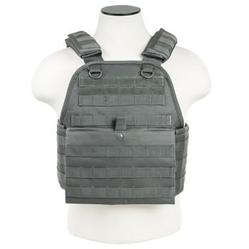 NCSTAR Vism By Ncstar Urban Gray Plate Carrier Vest (CVPCV2924U)
