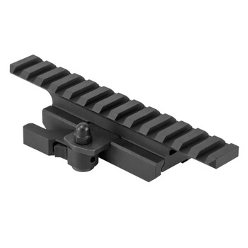 NCSTAR AR15 Picatinny 3/4in Riser with Locking QR Mount (MARFQV2)