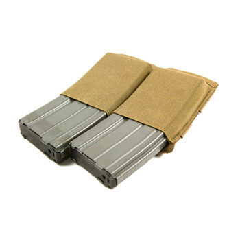 BLUE FORCE Ten-Speed Double M4 Coyote Brown Mag Pouch (HW-TSP-M4-2-CB)