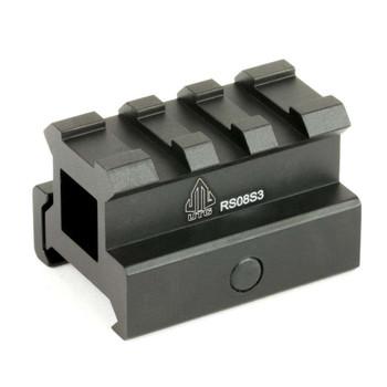 UTG 3-Slot Medium Profile Riser Mount (MNT-RS08S3)