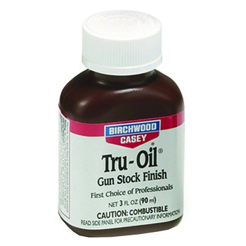 BIRCHWOOD CASEY Tru-Oil Liquid 3oz Stock Finish 6/Pack Blister Card (23123)