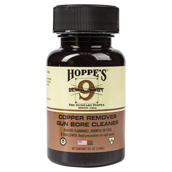 HOPPE'S Bench Rest 9 5oz Bottle Copper Solvent (BR904)