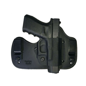 FLASHBANG HOLSTERS Ava Glock 42 Right Hand Black Inside the Pants Holster (9320-G42-10)