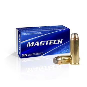 MAGTECH 44 Rem. Mag 240 Grain SJSP Ammo, 50 Round Box (44A)