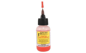 PRO-SHOT PRODUCTS 1 Step 1oz Solvent/Lube-Needle Oiler (1STEP-1 NEEDLE)