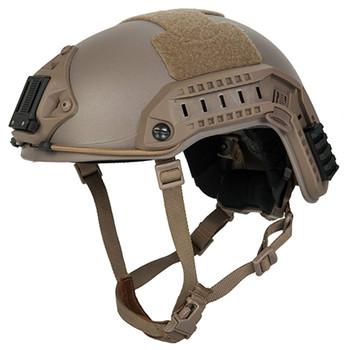 LANCER TACTICAL ABS Maritime Medium-Large Dark Earth Airsoft Helmet (CA-805T)