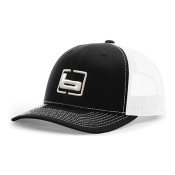 BANDED Trucker Black/White Snapback Cap (B03562)