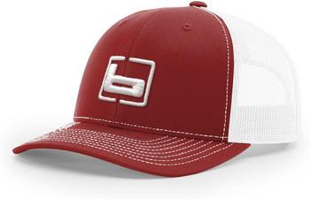 BANDED Trucker Cardinal/White Snapback Cap (B03565)