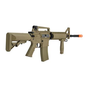 LANCER TACTICAL M4 RIS SOPMOD Gen2 Dark Earth Airosft Rifle (LT-04T-G2)