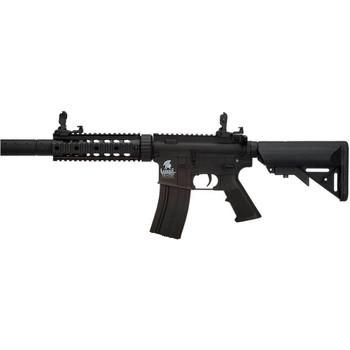 LANCER TACTICAL M4 SD GEN 2 Polymer Low FPS AEG Black Airsoft Rifle (LT-15BL-G2)