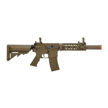 LANCER TACTICAL M4 SD GEN 2 Polymer Low FPS AEG Tan Airsoft Rifle (LT-15TL-G2)